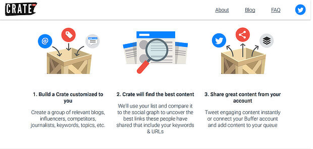 Crate Content Curation Tool