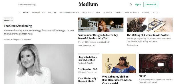 consider using medium as a news curation tool