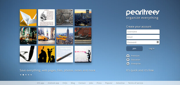 content curation software - pearltrees