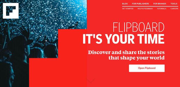 content curation tools - flipboard