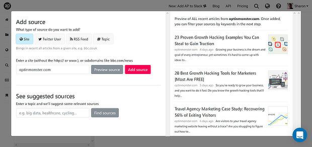 免费增值内容管理工具 - 安德斯粉红色