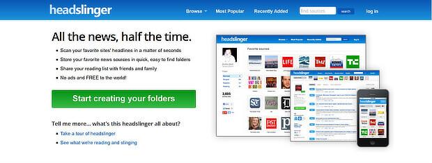 headlinger是一款免费的内容管理工具