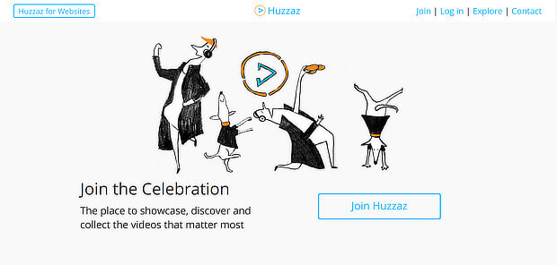 huzzazz is a video content curation tool