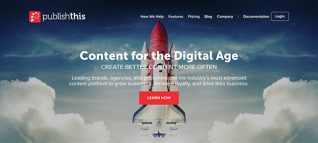 publishthis允许您策划内容和发布简报