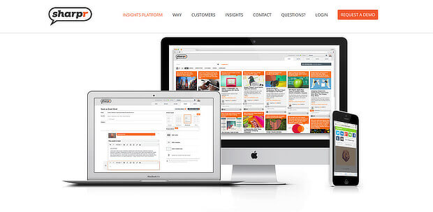 sharpr is an enterprise content curation tool