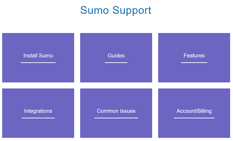 sumo documentation