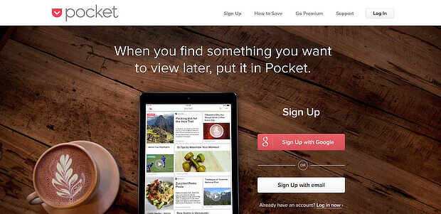 use pocket for personal content curation
