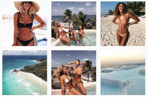 549e0a814a Monday Swimwear knows that their audience loves bikinis and the beach life