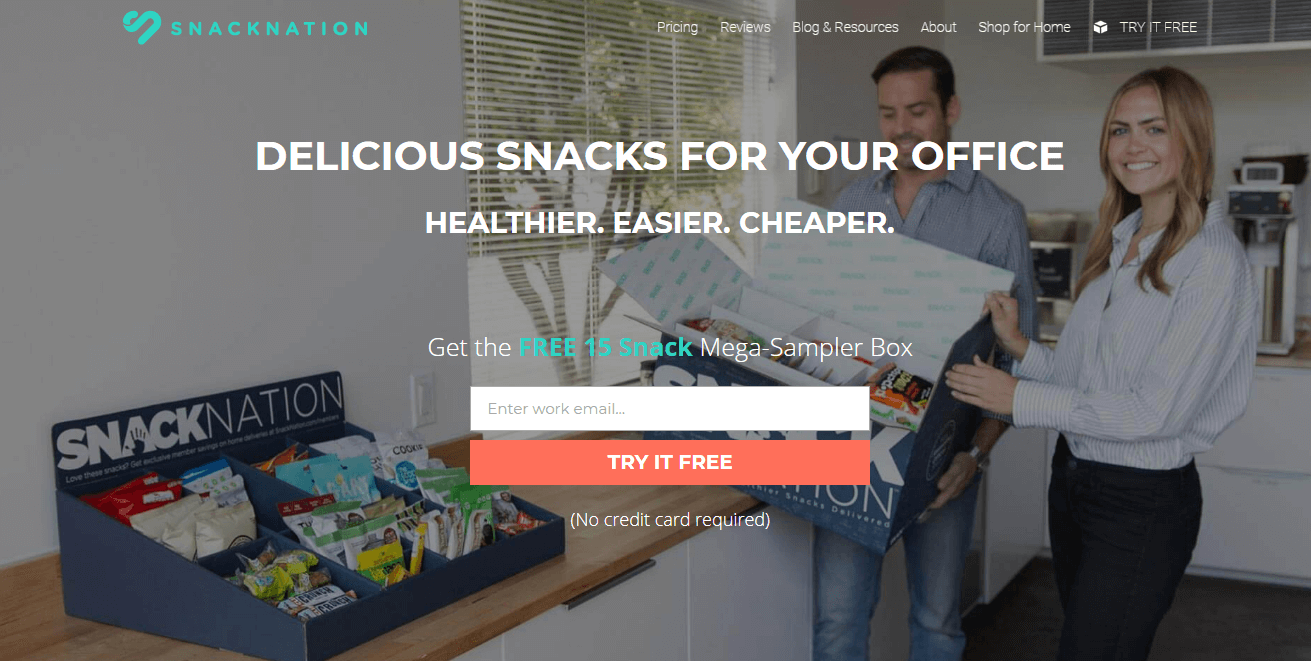 How SnackNation adds 1200 segmented leads each week using OptinMonster