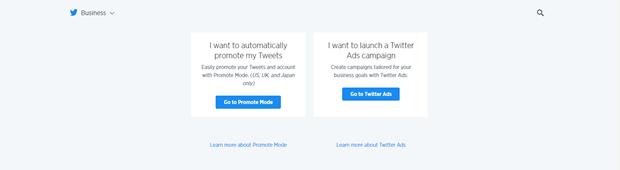 Twitter-Anzeigen