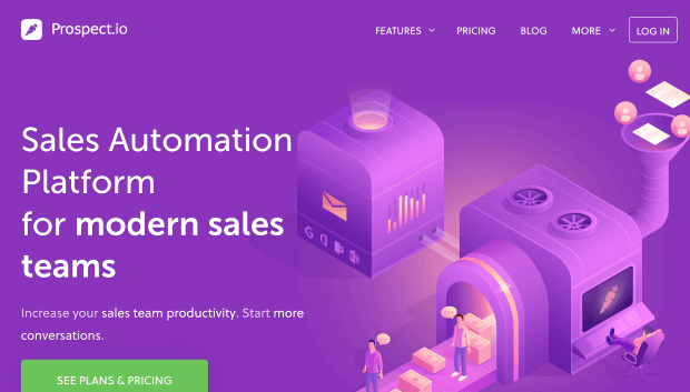prospectio is a web based lead generation tool