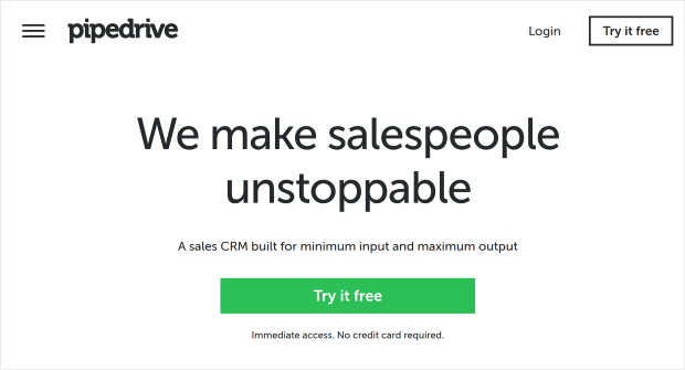 pipedrive lead generation software