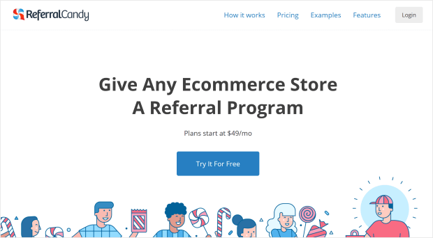 referral candy lead gen tools