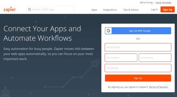 zapier lead generation software