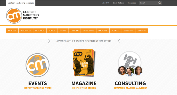 cmi's above the fold web content