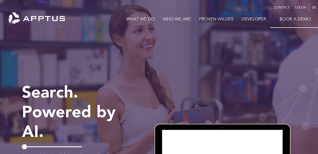 Apptus – eCommerce personalization platforms
