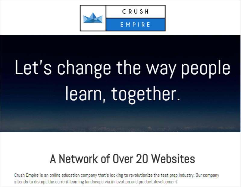 Crush Empire Generated 460 Sales In One Year Using OptinMonster