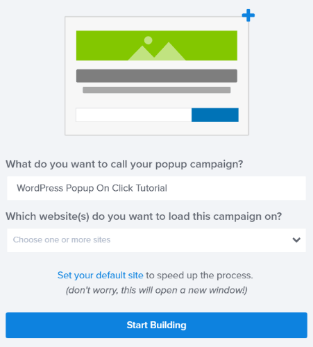 How to Trigger a WordPress Popup Form On Click (Step by Step)
