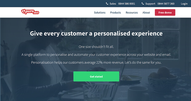 pure360 is ecommerce personalization software