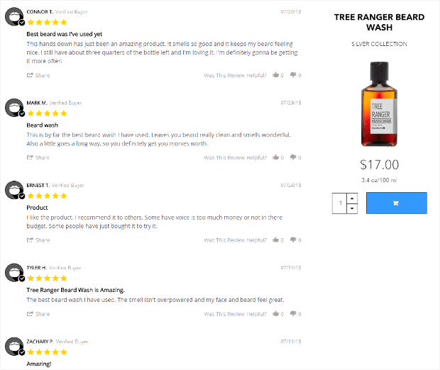 product reviews as social proof