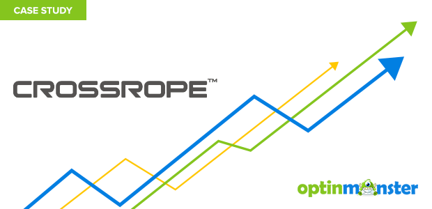 CrossRope uses OptinMonster to increase conversions.