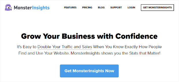 monsterinsights makes it so easy to know exactly how your site is performing