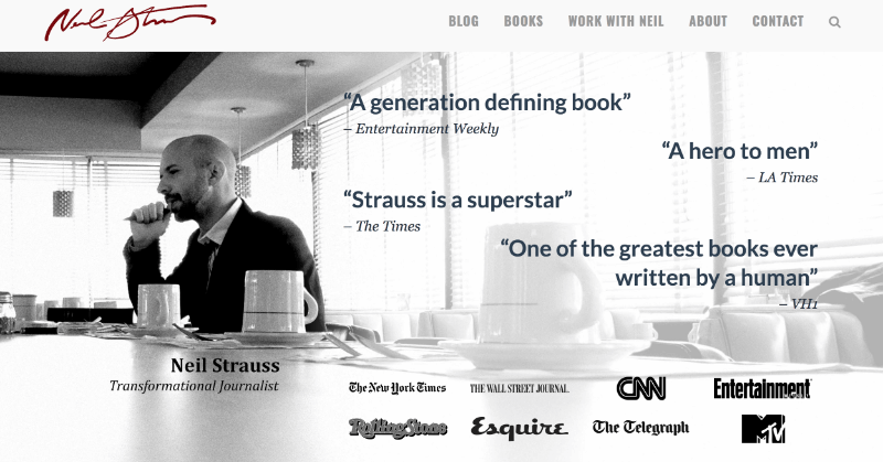 Neil Strauss uses OptinMonster to increase conversions 125 percent.