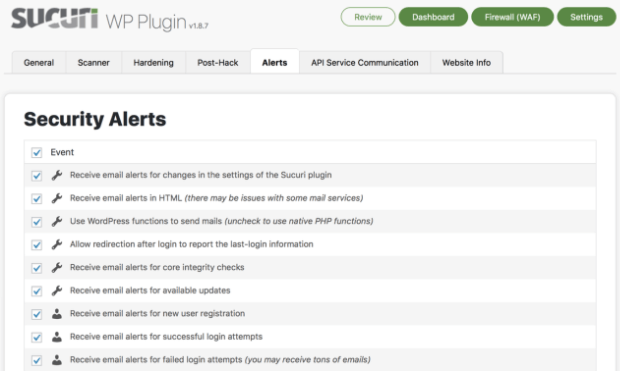 sucuri - best wordpress plugin