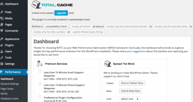 w3_total_cache - caching plugins
