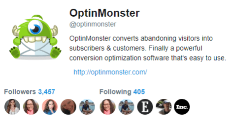 OptinMonster Twitter button