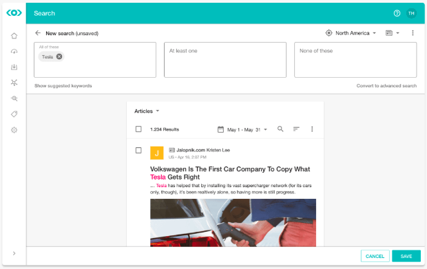 meltwater social dashboard