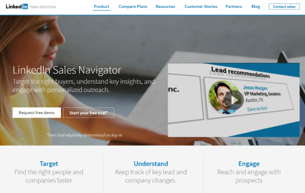 sales navigator by linkedin