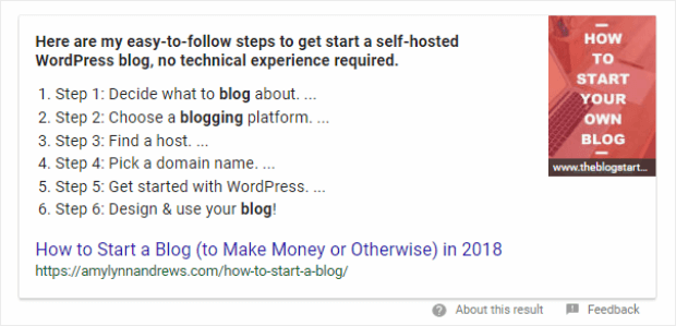 how to optimize for featured snippets