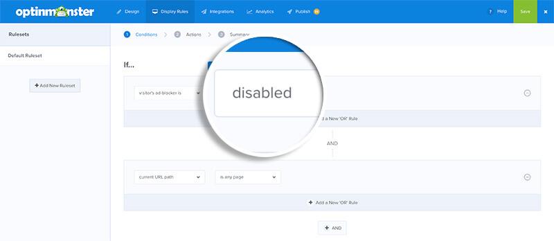 Adblock Disabled