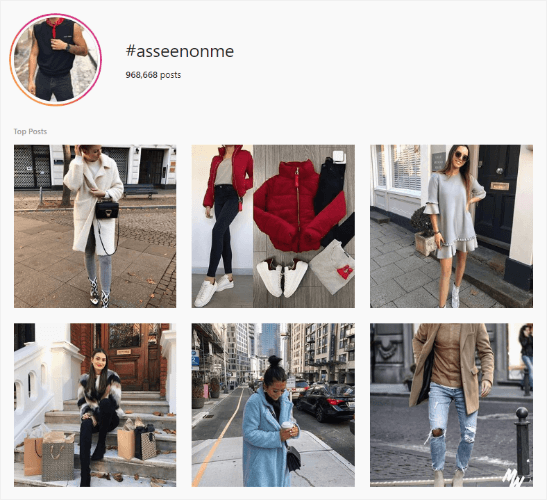 asos user-generated content