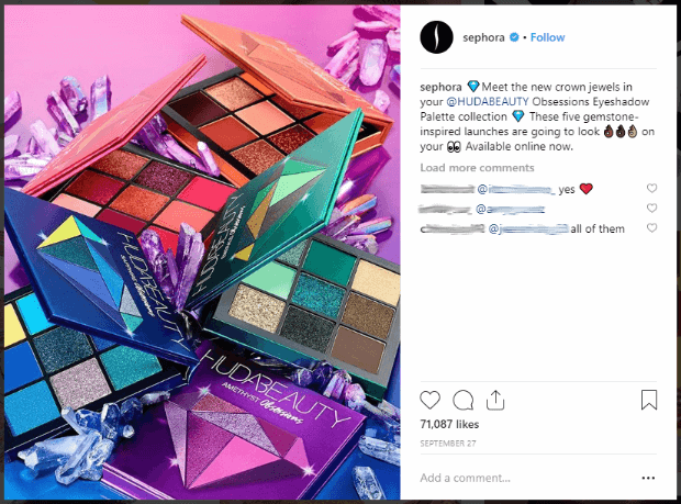 Sephora's gorgeous Instagram posts are goals