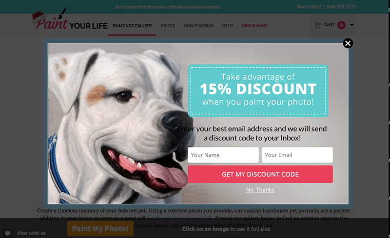 A/B Split Testing Optin Coupon Offer