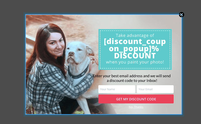 A/B Split Testing Optin Coupon Offer 2