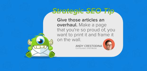 seo tips crestodina rewrite and optimize posts