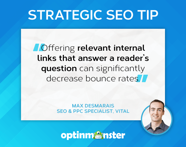 seo tips max desmarais vital user engagement