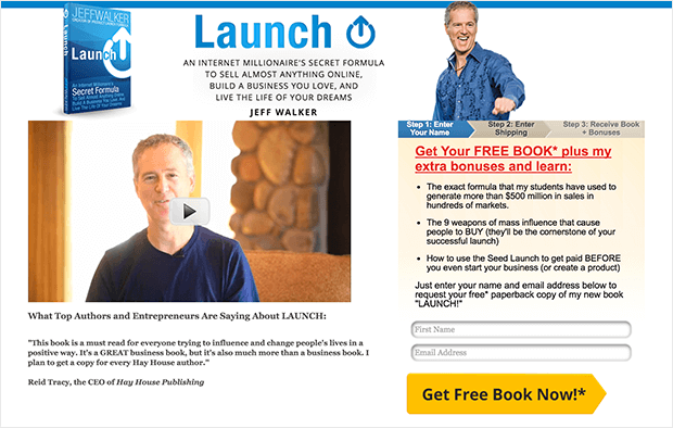 offer free + shipping to engage with qualified leads