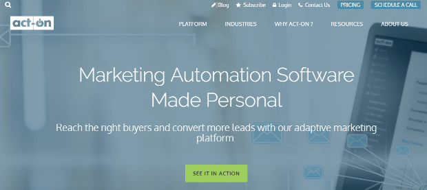 act-on marketing automation