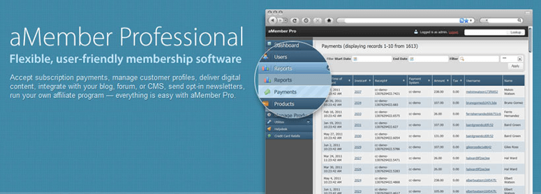 amember pro wordpress membership site plugin