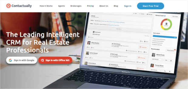 contactually real estate crm