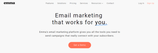 emma email marketing platform