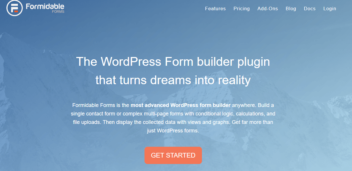 formidable forms advanced wordpress form builder