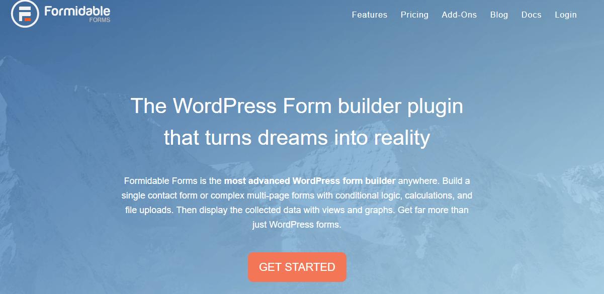 formidable forms advanced wordpress form builder