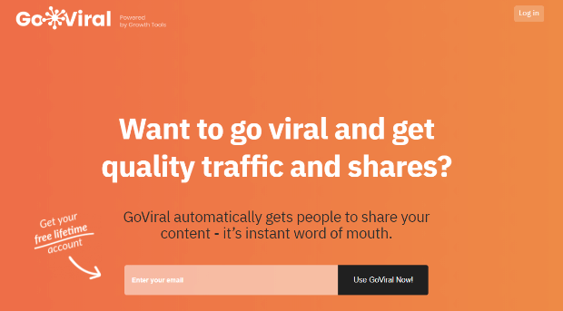 goviral automatically share content