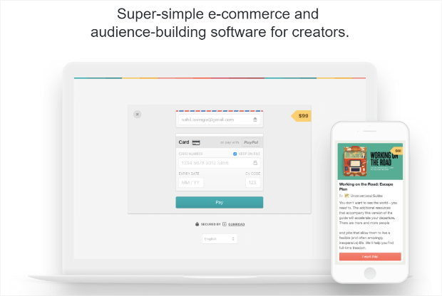gumroad audience building software for creators