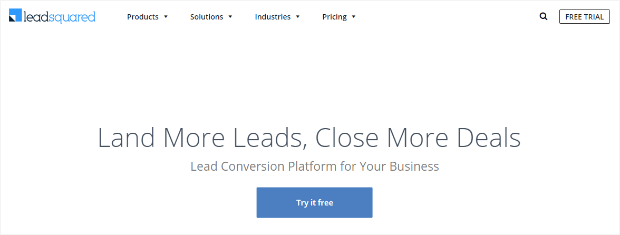leadsquared lead conversion platform